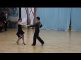 1-Региональный турнир по спортивным танцам, Латиноамериканская программа, Приветствие, Визитка, Танец ЧАЧАЧА))