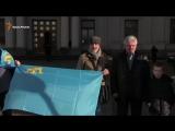 Крымские татары вышли под МИД Украины - требуют отреагировать на обыски в Крыму