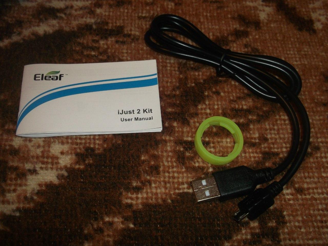Стартовый набор для новичка - Eleaf Ijust 2+атомайзер для самостоятельной намотки (Goblin mini)