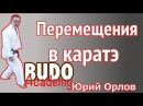 Техника перемещений в каратэ. Юрий Орлов