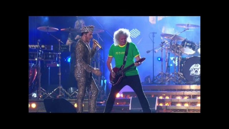 Queen Adam Lambert - We Will Rock You We Are The Champions - Live At Rock In Rio 2015