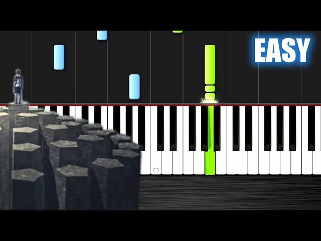 Imagine Dragons - Radioactive - EASY Piano Tutorial by PlutaX - Synthesia