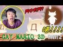 【Cat Mario 3D】踩住鋼線飄移吧~孩子! Stage 1PART2打波子機