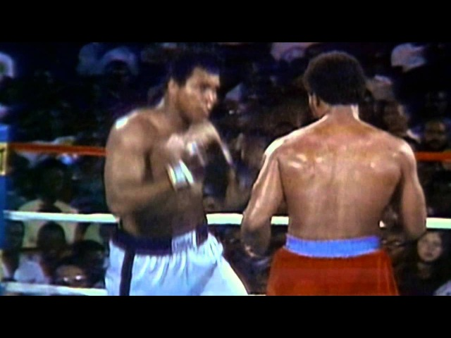 Muhammad Ali vs George Foreman 1974 Tomorrow Sauf keita