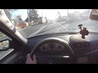 Mercedes-Benz E220 CDI (W211) - POV Test Drive