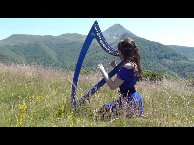 The Lord of the Rings The Hobbit - Medley - harp
