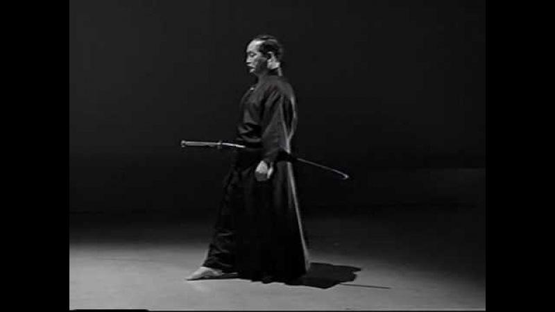 9. Iaido Kata Seitei 09 Kyuhon-me - Soete-zuki - High quality - www.thesamuraiworkshop.com