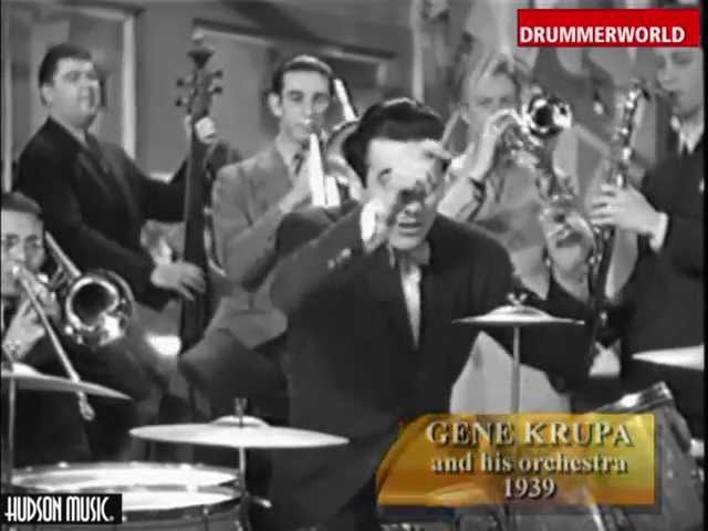 Gene Krupa His Orchestra: The Brush Drum Solo - 1939
