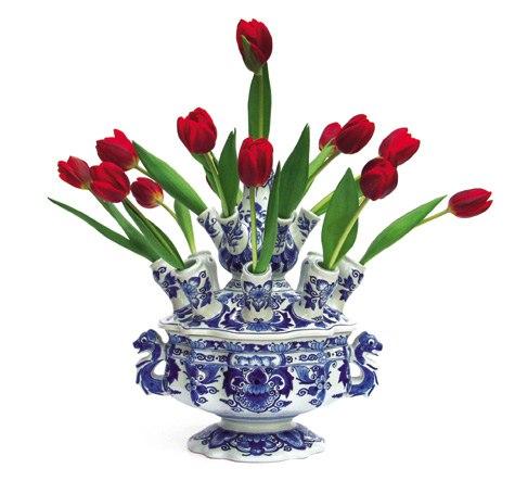 голландская ваза для тюльпанов Вагинальная