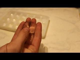 Как сделать лёд прозрачным...
