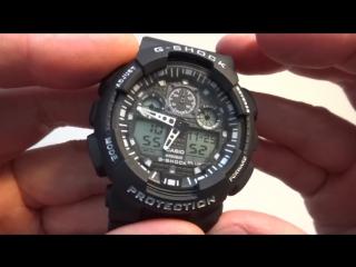 Casio G-Shock китайская копия настройка