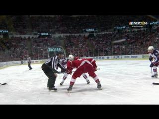 Хоккей. НХЛ. Коламбус - Детройт. Комментатор Андрей Жидков. Часть 2