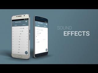 NRG Player музыкальный плеер для Андроид. Бесплатный.