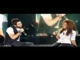 Tamer Hosny FT Aliaa Hosny - Etman_ تامر حسني و علياء - اطمن