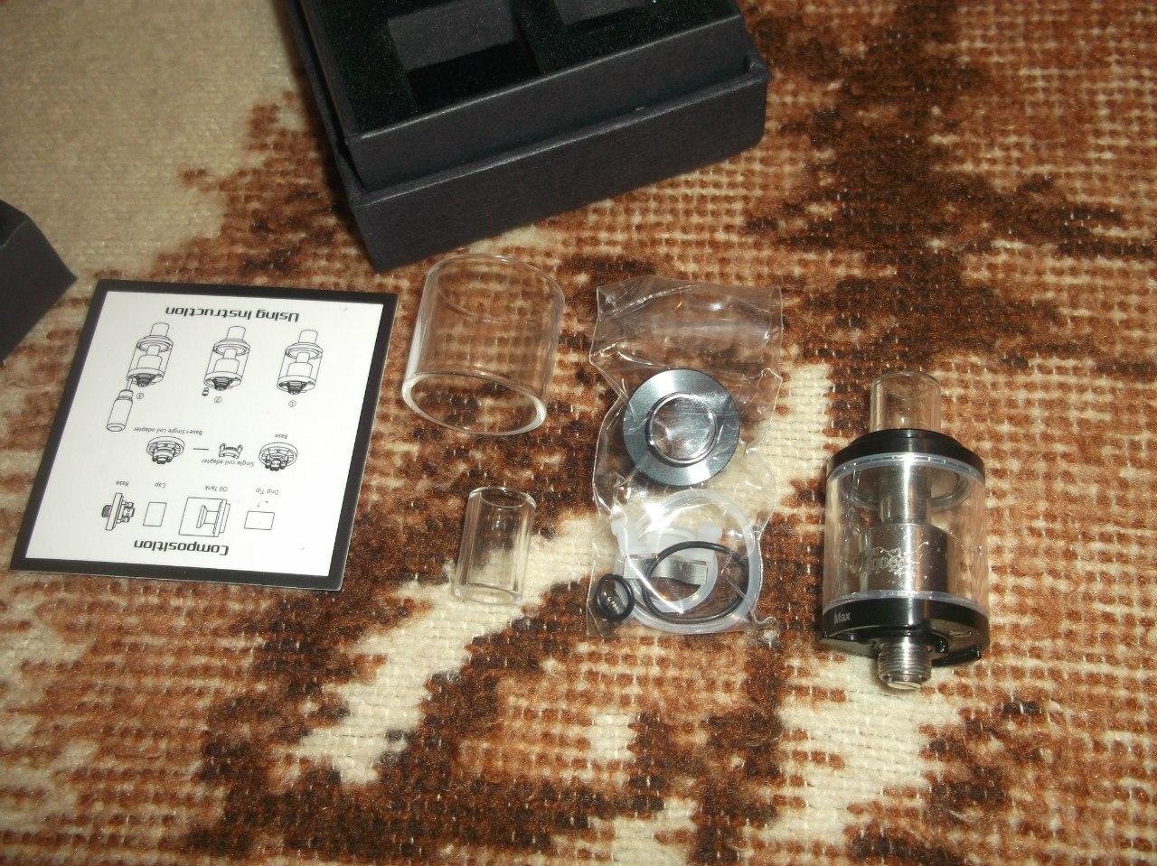 GearBest: Стартовый набор для новичка - Eleaf Ijust 2+атомайзер для самостоятельной намотки (Goblin mini)