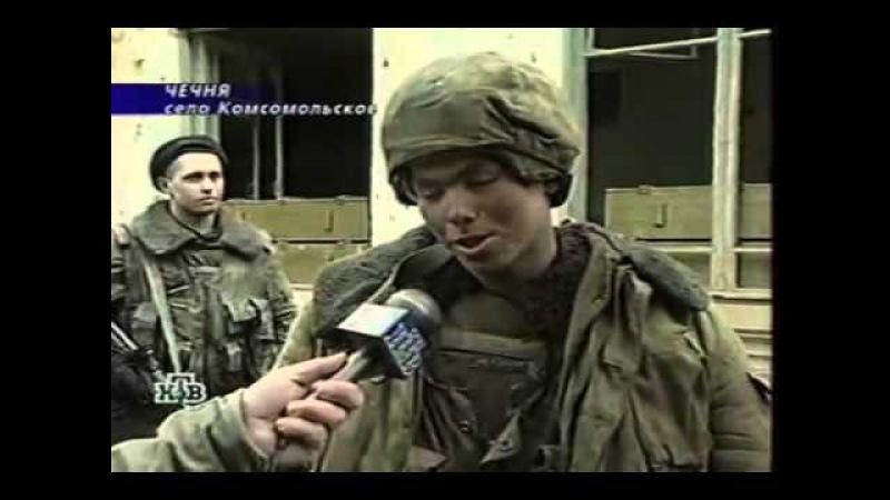 Русский солдат навалял боевику : )
