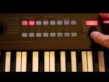 Korg R3 Analog, Dubstep &amp Bass Sound testing - DEMO part1 (HQ Audio)