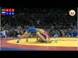 Togrul Asgarov (AZE) - Opan Sat (RUS) FS 60 KG European Nations Cup 2011 Moscow