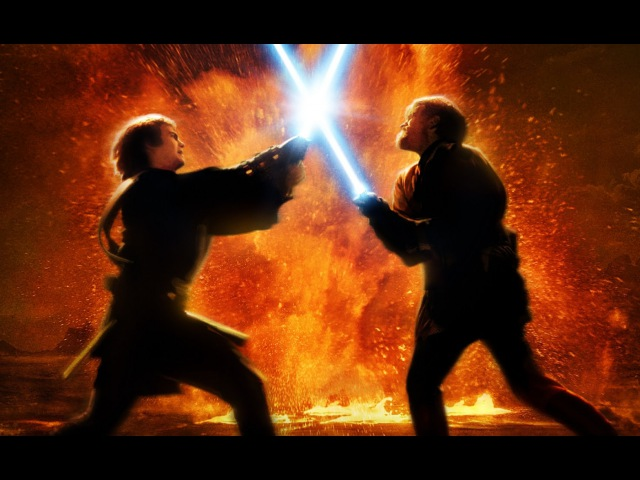 Darth Vader VS Obi Wan Kenobi Дарт Вейдер против Оби Вана Кеноби HD
