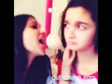 Exclusive Dubsmash of Alia Bhatt. Dubsmash India Official
