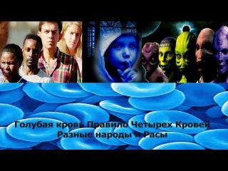 Голубая кровь Правило Четырех Кровей Разные народы и Расы