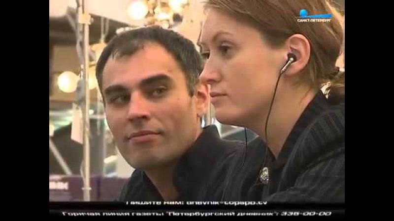 Спектакль «Кентерберийские рассказы» в гипермакете Максидом. Санкт-Петербург. 2015 г.