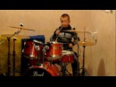Boney M - Nightflight To Venus / Rasputin - Drum Cover - Drummer Daniel Varfolomeev 9 years.