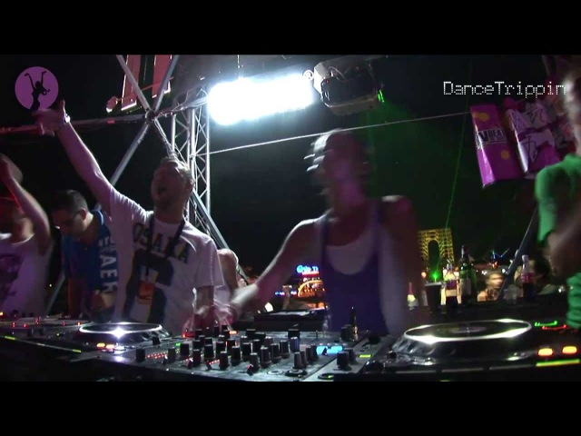 Lady Waks Kazantip Ukraine DJ Set DanceTrippin