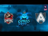 Team Empire vs The Alliance #1 (bo3) (Ru) | Captains Draft 3.0 (09.02.2016) Dota 2