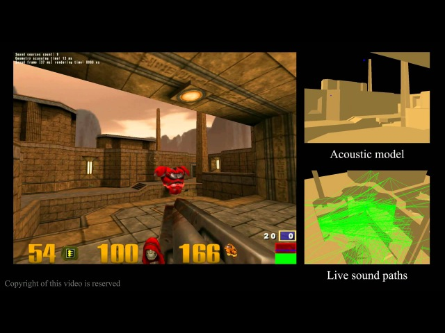 RAYA realtime game audio engine in Quake 3