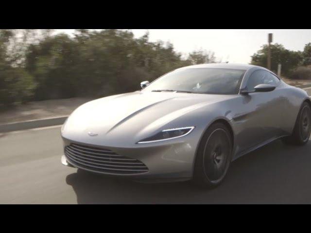Test Driving James Bond's Incredible Custom-Made Aston Martin