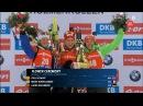 VM Oslo 2016 Womens sprint flower ceremony - T.Eckhoff, Mrin-Habert, L.Dahlmeier
