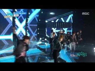 151226 #EXO - Call me baby, 엑소 - 콜미 베이비, Show Music core