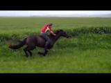 500m Bareback flatout gallop on Horse!
