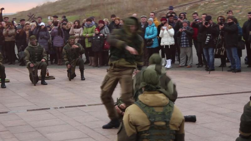 Морпехи показательное выступление Севастополь