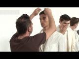 Male Models Backstage at Corneliani Spring/Summer 2013 | Milan Men's Fashion Week | FashionTV FMEN