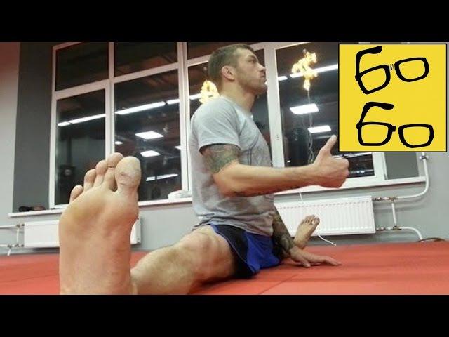 Урок растяжки для бойца — зачем шпагат для ударов ногами? Андрей Басынин о растя...