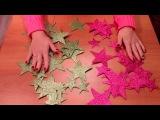 HANDMADE:Новогодняя гирлянда своими руками.