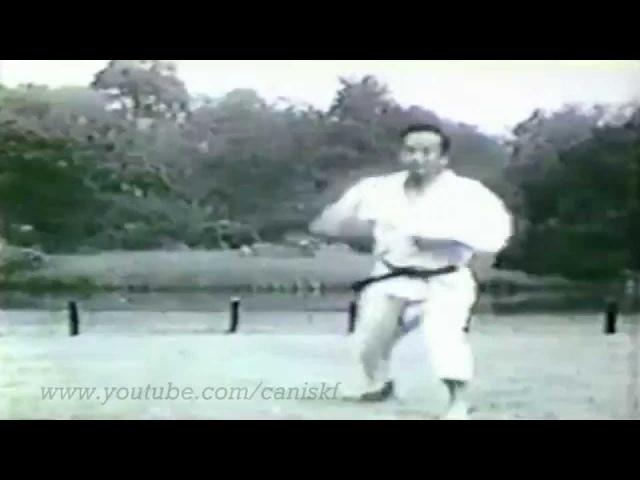 Nakayama Sensei UNSU BUNKAI