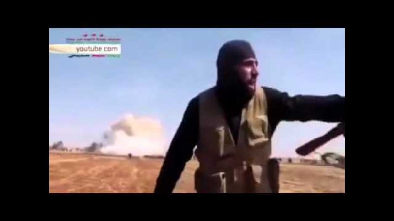 Террорист ИГИЛа читает рэп