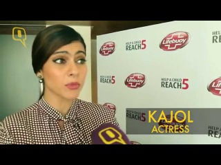 Bollywood Actress Kajol Promotes Hand Washing