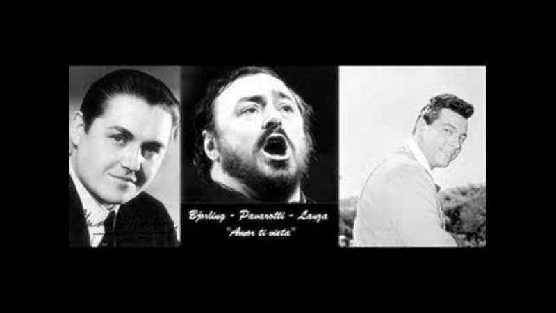 The dueling tenors- part 3- Amor ti vieta, Lanza, Bjorling, Pav