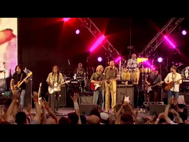 Группы ЦВЕТЫ и МАШИНА ВРЕМЕНИ вместе - Мы желаем счастья вам. 2010