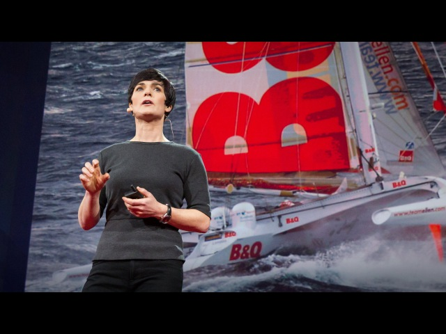 The surprising thing I learned sailing solo around the world Dame Ellen MacArthur