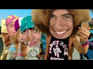 Прикольное Видео Поздравление от 3 друзей (C Пляжно эротической темой)!!!;) Часть#2