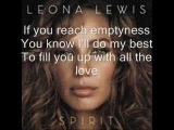 Leona Lewis-Here I Am wlyrics