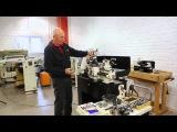 JET BD-8A токарный станок по металлу, обзор от ведущего инженера JET из Европы Ханса Веттерли