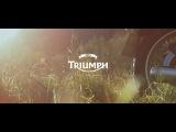 Triumph Cafe Racer fjord cruising