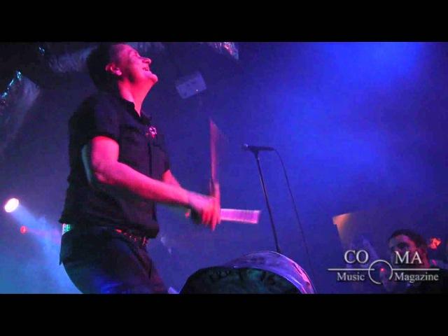 Die Krupps - Germaniac (live) - COMA Music Magazine