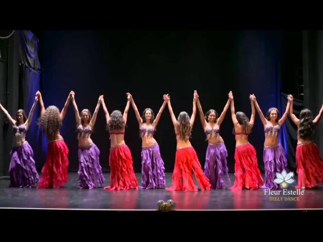 Belly Rendez-Vous Drum Solo Belly Dance by Fleur Estelle Dance Company